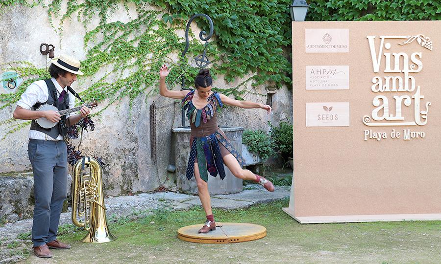 fotografía-Rueda-creación de contenidos-evento-VINS AMB ART-Mallorca